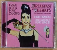 Henry Mancini: Breakfast At Tiffany's Soundtrack Milan CD