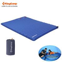 KingCamp Double Camping Mattress Pump-Inflating Sleeping Air Bed Outdoor Pad