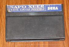 Sapo Xule: S.O.S. Lagoa Poluida (Sega Master System) Brazil, Tec Toy TecToy
