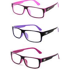 Clear Lens Fashion Glasses Trendy Style Rectangular Style Frame Clear Lens Frame