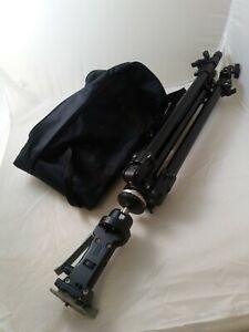 Manfrotto 144B Heavy Duty Tripod with 222 Grip Action Joystick Head, Ref:W1539