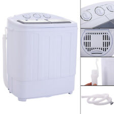 Compact Portable Washer & Dryer with Mini Washing Machine and Spin Dryer