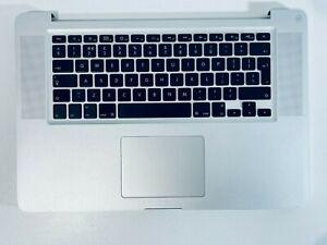 """Genuine Apple Macbook Pro 15"""" A1286 Palmrest Keyboard 2009 UK Keyboard + Battery"""