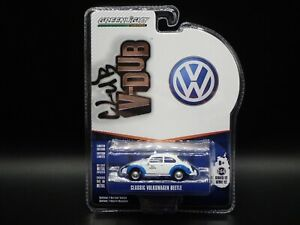 2021 GREENLIGHT CLASSIC VOLKSWAGEN BEETLE TAXI CLUB VDUB SERIES 12 1:64 CAR