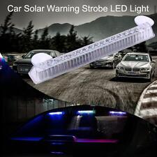 16LED Car Dash Strobe Flashing Light Emergency Warning Police Safety Solar Light