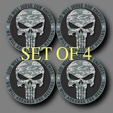 "Set of 4 Punisher Army ACU 2"" Phone Yeti Decal Sticker"