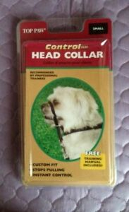 Control Ease Headcollar Dog Top Paw SIZE SMALL NEW IN BOX 50% OFF SALE