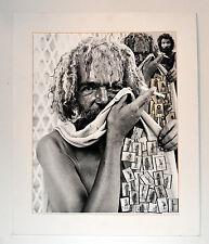 JOSE TONITO Fine Art B&W Silver Photograph.1989 Prize winner decoupage.Signed.