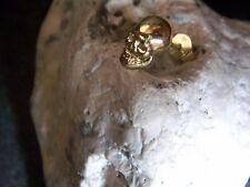 WMM- Piraten-Schädel-Totenkopf-Skull-Ohrring-585er-Gelb-Gold-1,5-Gr.