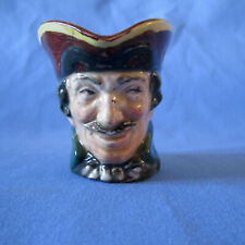 Small Size Royal Doulton Toby Jug Dick Turpin A-Mark 1939 -55 England 2.5� Tall