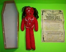 Voodoo Doll Mystical Executive In Coffin Box Instructions Halloween Horror Goth