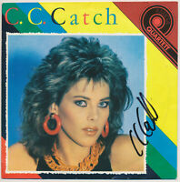 "C. C. Catch - Heartbreak Hotel - 7"" Single - Coverhülle SIGNIERT"