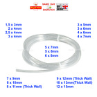 17 TAMAÑOS PVC Tubo Plástico Transparente Manguera/tubo,Pescado/Estanque/Coche/