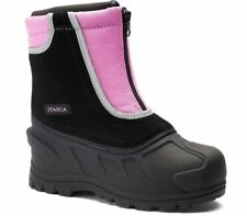 Youth Girls Itasca Snow Stomper Winter Boots Size 1 Raspberry 8010025