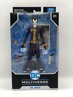 """McFarlane Toys DC Multiverse The Joker Batman Arkham Asylum 7"""" Action figure"""