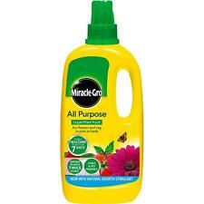 Miracle Gro All Purpose Fast Growing Plant Vegetable Flower Food Concentrated 1L