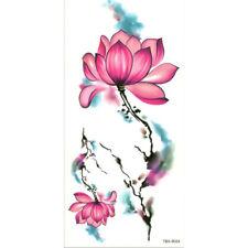 Blue Rose Fiore Adesivi Tatuaggi Temporanei Body Art 3D ROSE Art