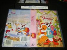 Vhs *Winnie the Pooh - Christmas Too!* Walt Disney Collection - Rare Classic!