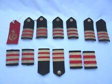 Old not vintage nautical medical ? uniform epaulets / stripes x 13
