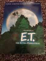 E.T. The Extra-Terrestrial (DVD, 2002, 2-Disc Set, 20th Anniversary Limited...