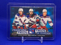 Tim Hortons Franchise Trios -2020-2021 New York Rangers-Tampa Bay-St.Louis
