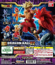 DragonBall Super Battle Figure Series VS Versus Part 2 02 Gashapon Set of 4pcs