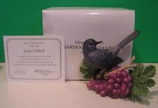 LENOX GRAY CATBIRD 2005 Garden Bird New In Box with COA