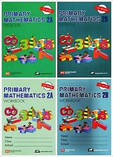 Singapore Primary Math Grade 2 Kit (US ED)-Workbook/Textbook 2A+2B-FREE EXP SHIP
