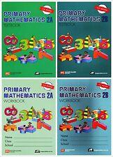Singapore Primary Math Grade 2 Kit (US ED)-Workbook/Textbook 2A+2B-FREE EXP SHIP