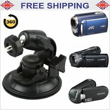 Car Window Windscreen Suction Cup Mount Tripod Holder 4 Digital Camcorders Cam