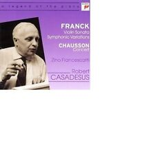 Franck Violin Sonata, symphonic Variations/Chausson Concert Robert Casadesus