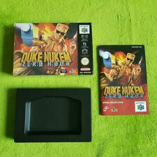 N64 - Duke Nukem OVP + Anleitung (OHNE Spiel!) - Nintendo 64