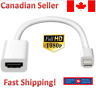 Mini DisplayPort Thunderbolt to HDMI Adapter Compatible with Apple iMac and Mac
