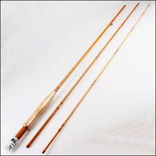"2.7M/8'9"" Fly Rod #5/6 Carbon Fiber 3-piece Medium Fast Bass Trout Fishing Rod"