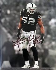 Khalil Mack Oakland Raiders 8x10 autographed photo Reprint