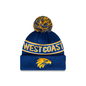 NEW Official West Coast Eagles New Era Knit Beanie