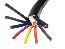 9 Conductor Trailer Wire - 5-14 Gauge, 2-12 Gauge & 2-8 Gauge Wires (Per Foot)