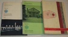 North Reading, Mass 1968/1969/1970 Town Reports Book Lot (3)
