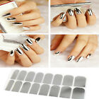Chic Women 16pcs Smooth Nail Art Sticker Patch Foils Armour Wraps Decoration CN