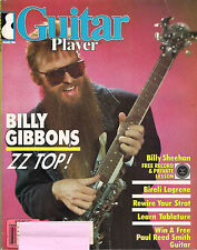 GUITAR PLAYER March 1986 BILLY GIBBONS ZZ TOP Sheehan Steve Morse RECORD Address