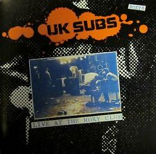 UK Subs(CD Album)Live At The Roxy Club-Receiver-RRCD146-UK-New