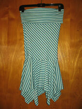 Guess Jeans strapless scarf hemline sexy adorable  dress size S  dress A6
