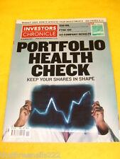 INVESTORS CHRONICLE - PORTFOLIO HEALTH CHECK - MARCH 18 2005