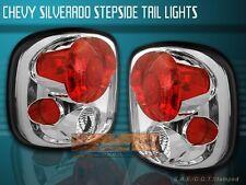 99-04 CHEVY SILVERADO SIERRA STEPSIDE TAIL LIGHTS CLEAR