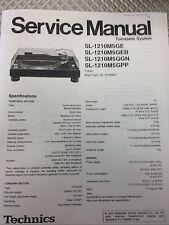 Technics SL1200/1210 M5G Service Manual