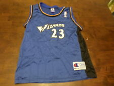 Michael Jordan Washington Wizards NBA Jersey Used Kids L 14/16 Champion