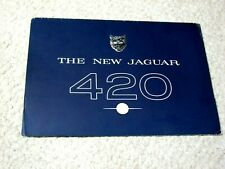 "1960's JAGUAR 420 ""G"" SALES BROCHURE.."