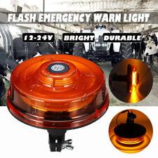 12V 24V 24W LED Warning Beacon Strobe Light Car Forklift Truck Tractor Din Pole