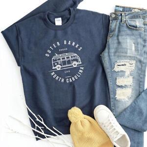 Outer banks North Carolina Sweatshirt Pogue Life Pullover Shirt Unisex Jumper