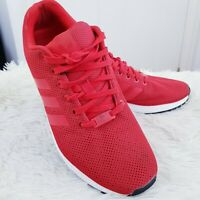 adidas Originals ZX Flux triple Red torsion mens Adidas trainers Size UK 9